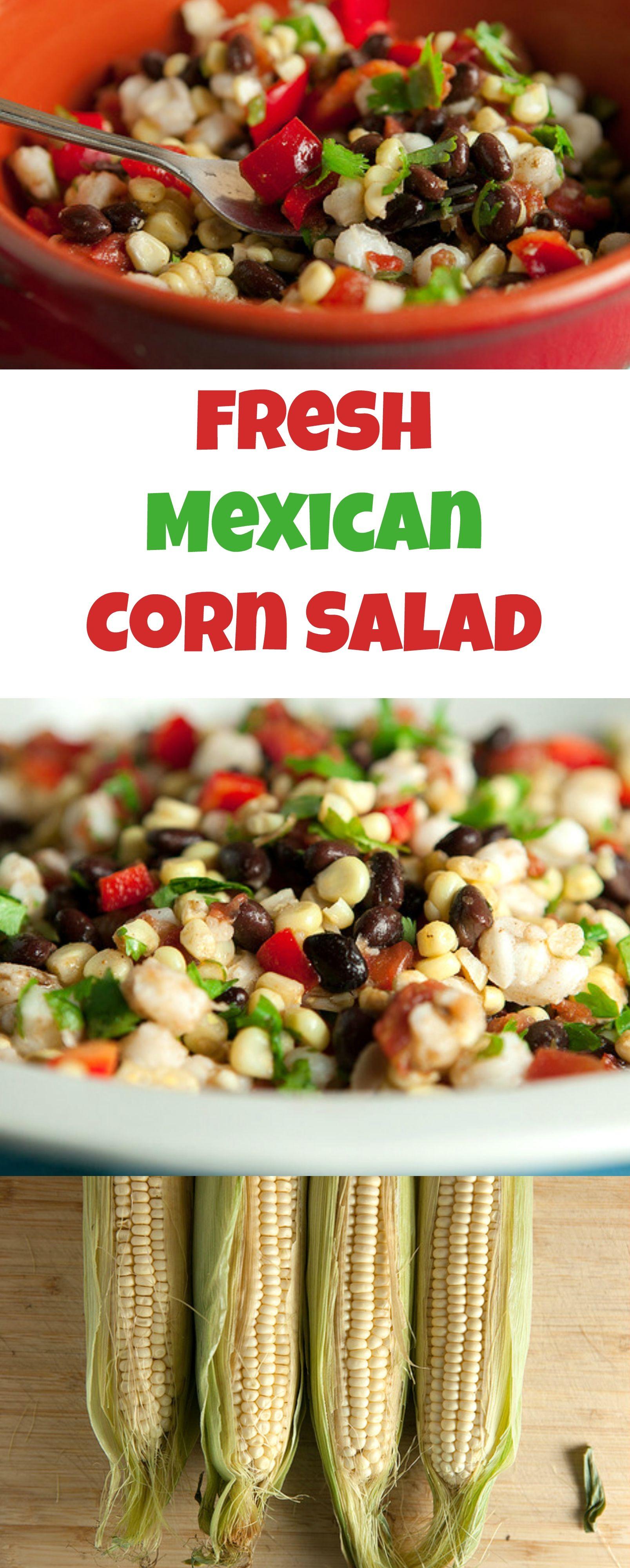 Fresh mexican corn salad easy 5 minute recipe recipe
