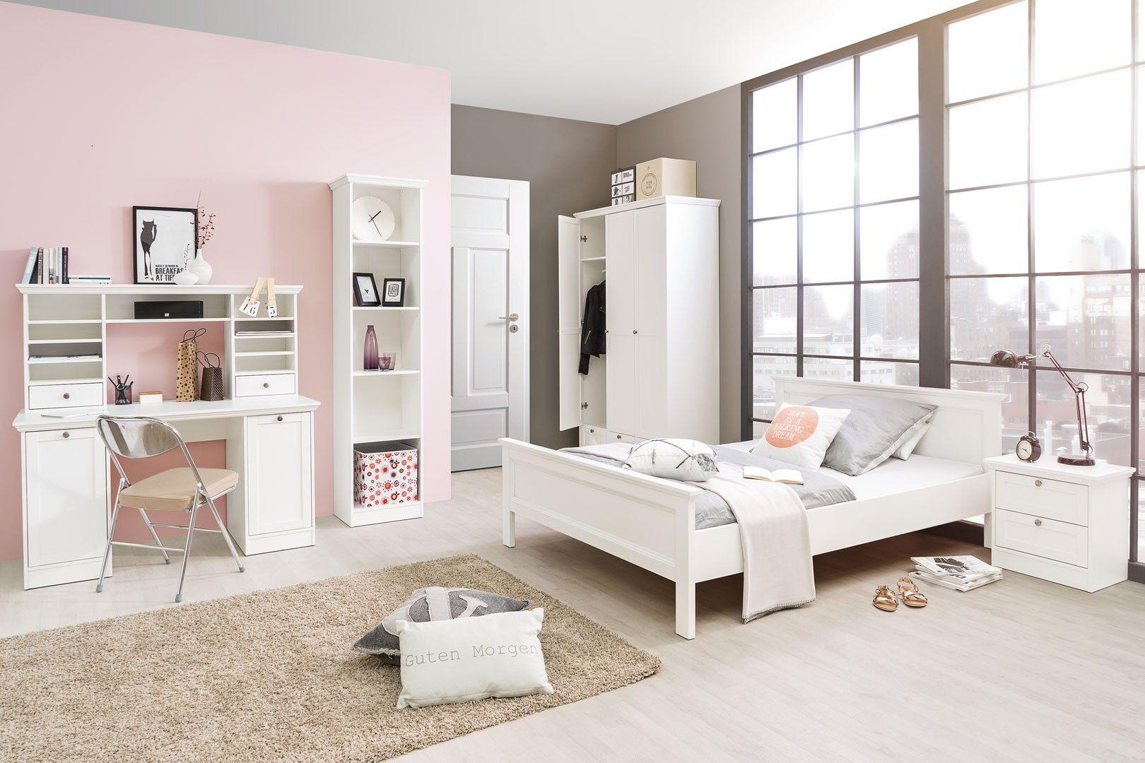 Chambre Enfant Contemporaine Coloris Blanc Natural Chambre