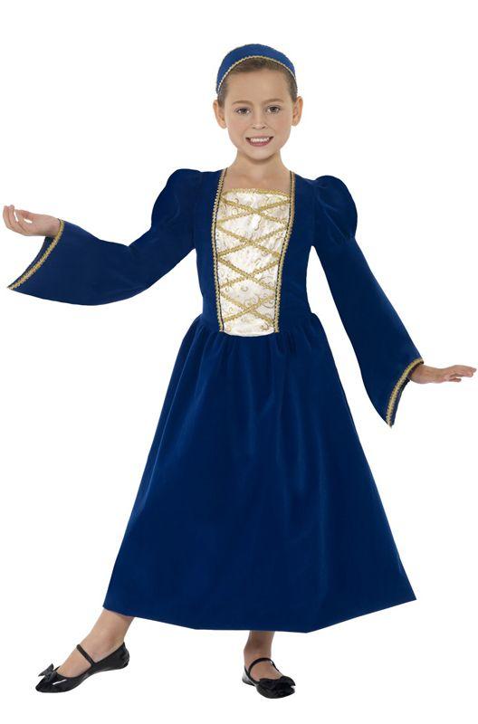 English Tudor Princess Renaissance Child Costume
