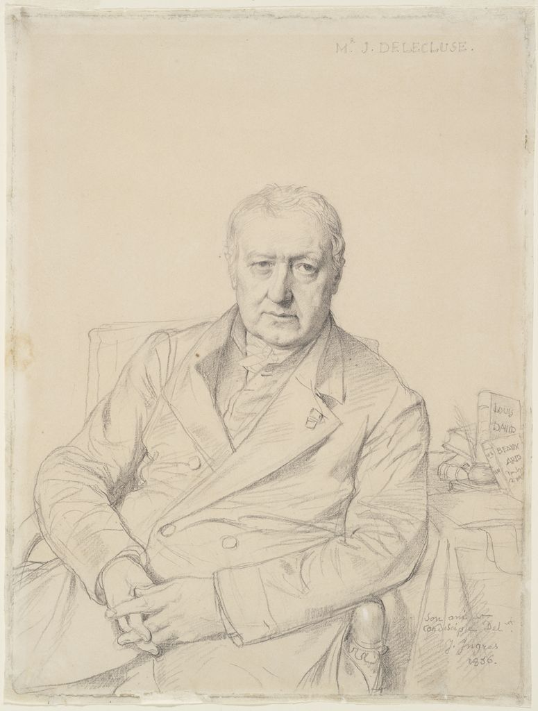 Portrait Of Etienne-Jean Delécluze