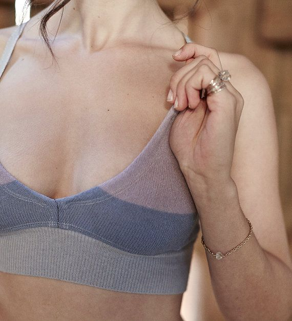 fine wool bralette CUSTOMIZE YOUR OWN by sartoria on Etsy, $52.00