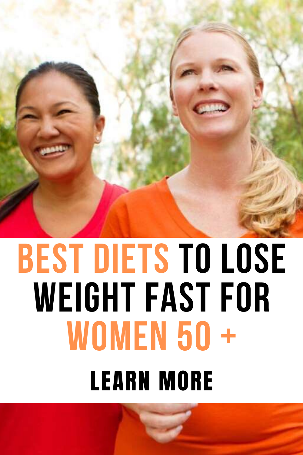 how to lose weight after 50 fast