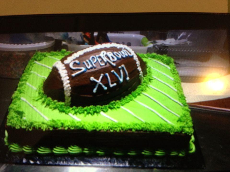 Super Bowl Cake   Superbowl cake, Cake, Special cake