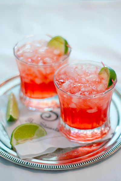 Scarlett O Hara Cocktail Recipe With Images Food Drink