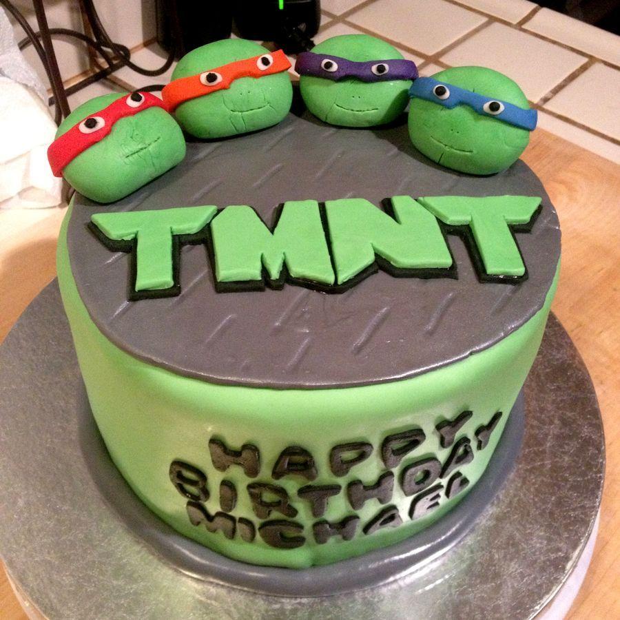Ninja Turtle Cakes At Walmart Teenage Mutant Ninja Turtles Cake