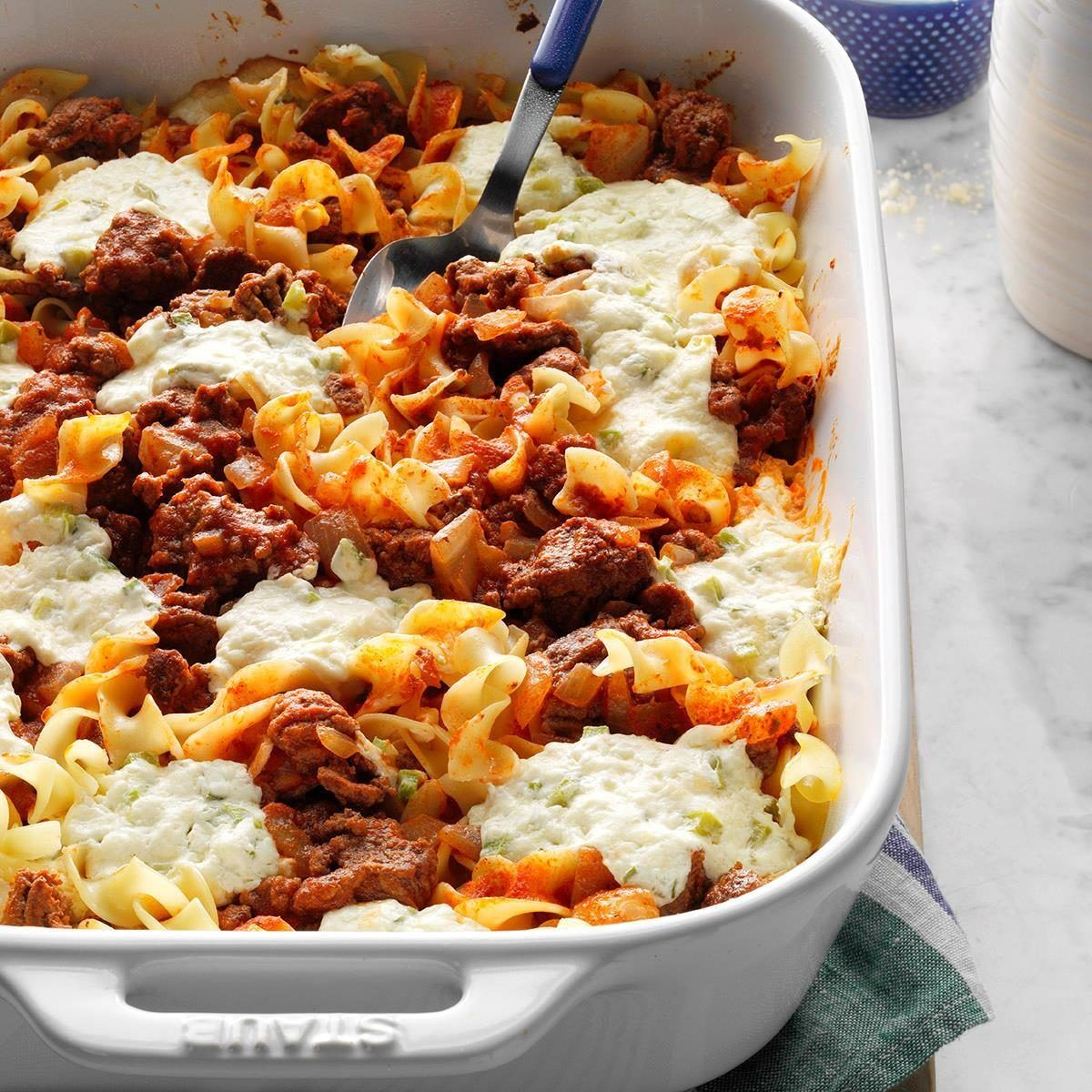 Cheesy Beef Casserole Recipe In 2020 Beef Casserole Recipes Fall Casserole Recipes Fall Casseroles