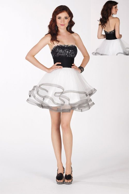 10 Best images about Black and White Dresses on Pinterest ...