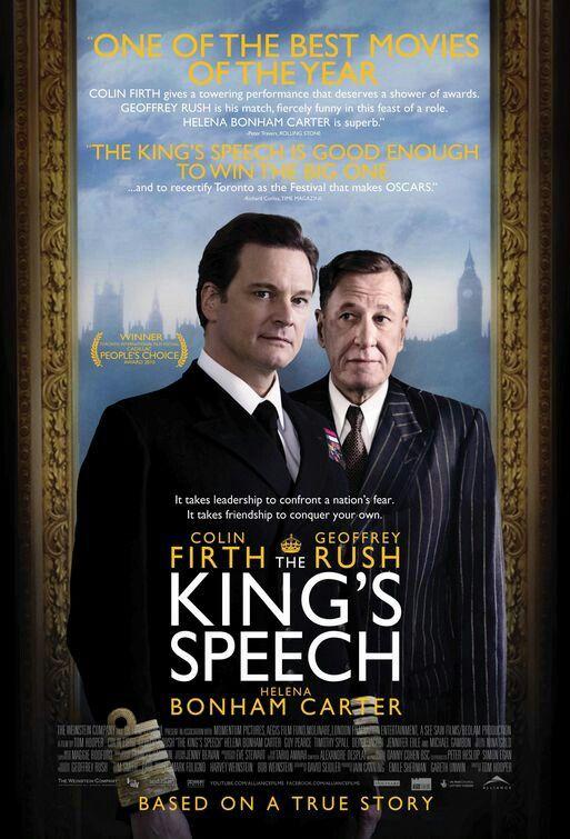 The King S Speech El Discurso Del Rey Peliculas De Epoca Cine Y Pelis
