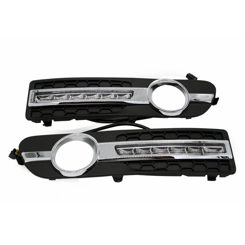(64.95$)  Watch more here - http://aixdg.worlditems.win/all/product.php?id=32722771744 - 2x Ccar-Specific DRL Bright White LED DayTime Running Light For Volvo S80 2009-2013 with Amber Turn Signal Dimmed Light