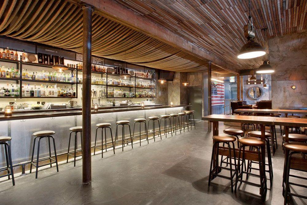 Churchill Bar Design Restaurant Bar Interior Bar