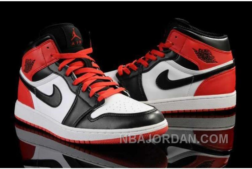 79540130aaca http   www.nbajordan.com nike-air-jordan-1-mens-air-cushion-white-red-black- shoes.html NIKE AIR JORDAN 1 MENS AIR CUSHION WHITE RED BLACK SHOES Only   84.00 ...