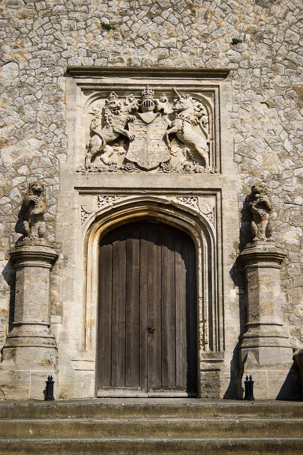 Dover Castle Door By Douglas Barnett