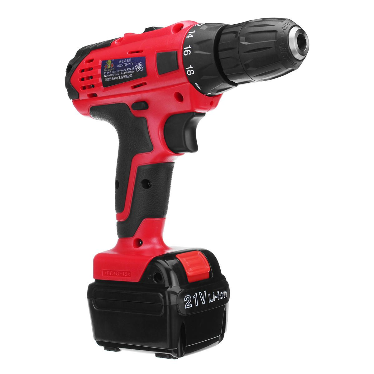 Us 59 99 20 21v Li Ion Cordless Electric Driver Drill 2 Speed Adjustable Power Screwdrivers With Led Light Power Tools From Tools Industrial Scientific On B
