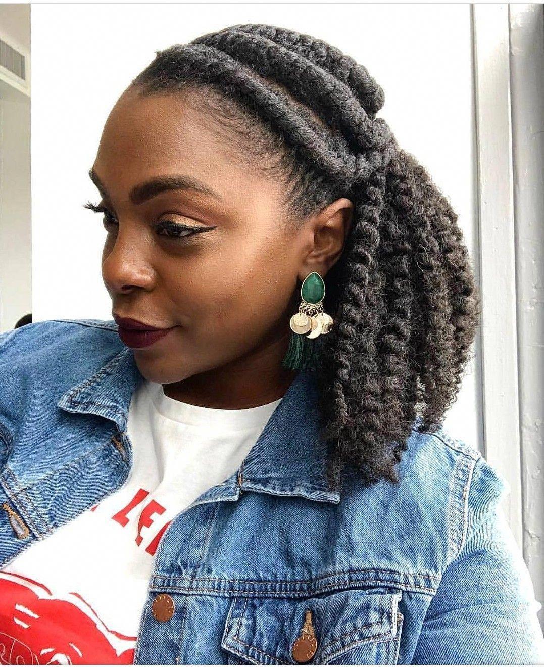 Adore this hair naturalhairstylesforteens flat twist