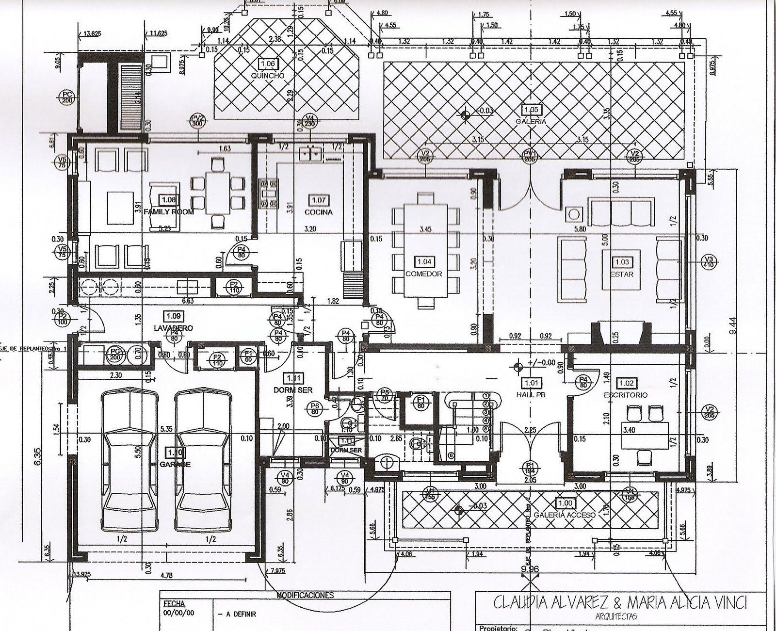 planos de casas nordelta