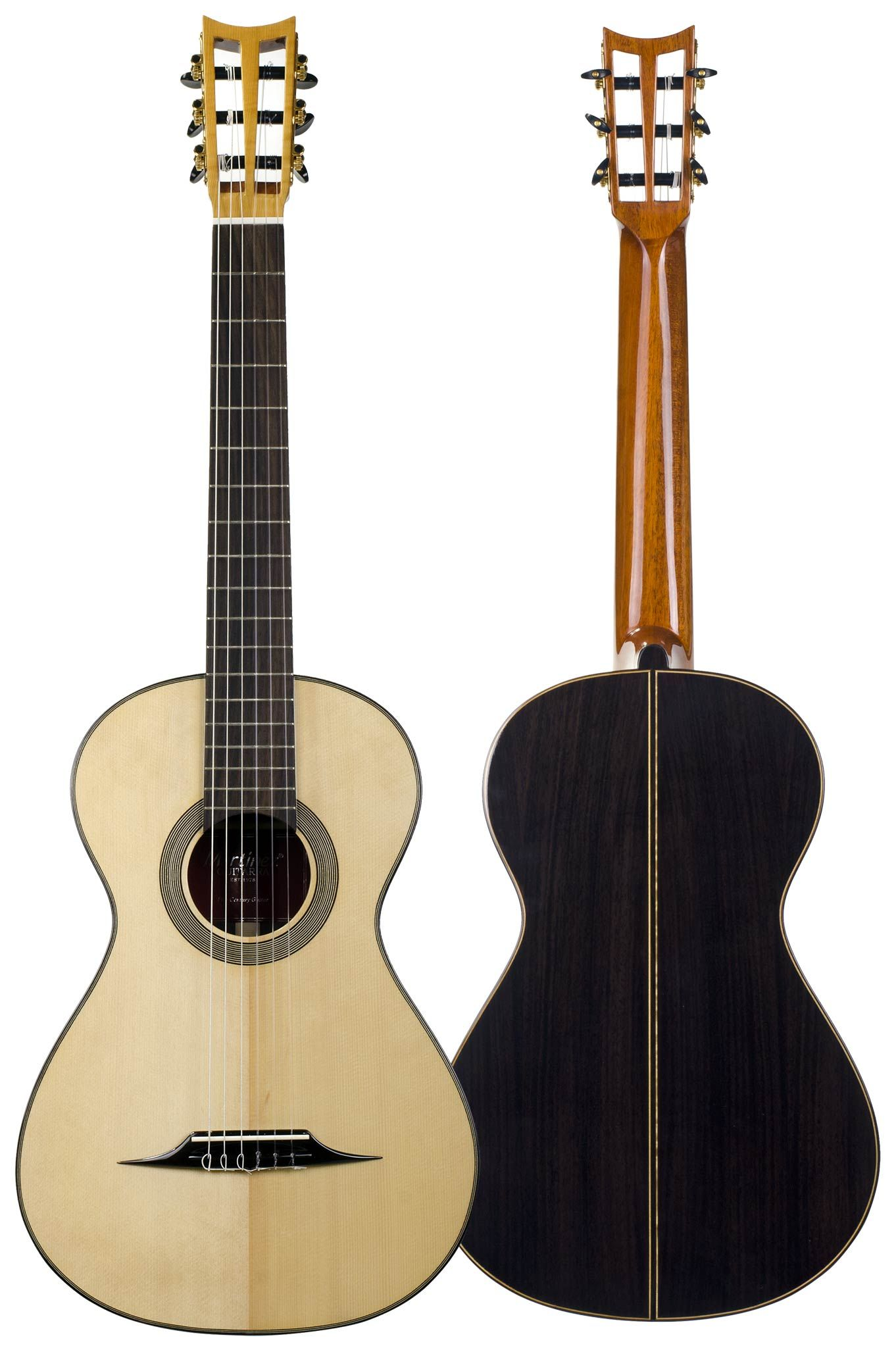 Martinez Romantic Classical Guitar Replica Of Lacote Model 19th Century With A Very Peculiar Sound Vintage Guitars Classic Guitar Classical Acoustic Guitar