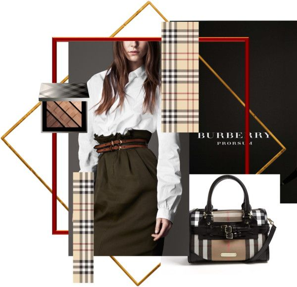 """""""Burberry Adoration"""" by style-by-larsen ❤ liked on Polyvore"""