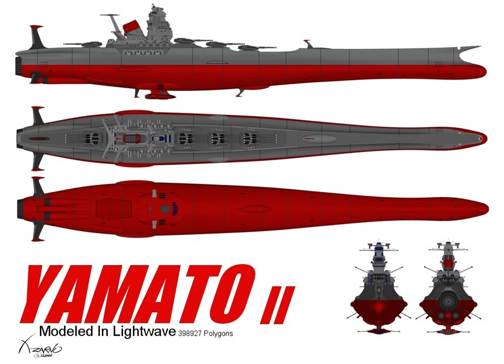 Space Battleship Yamato (live action film) 2. Description ...