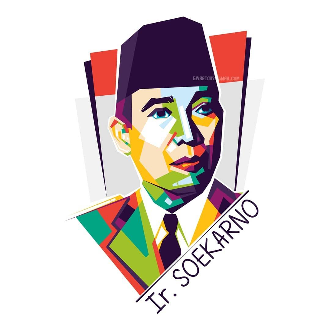 Gambar Wajah Pahlawan Nasional