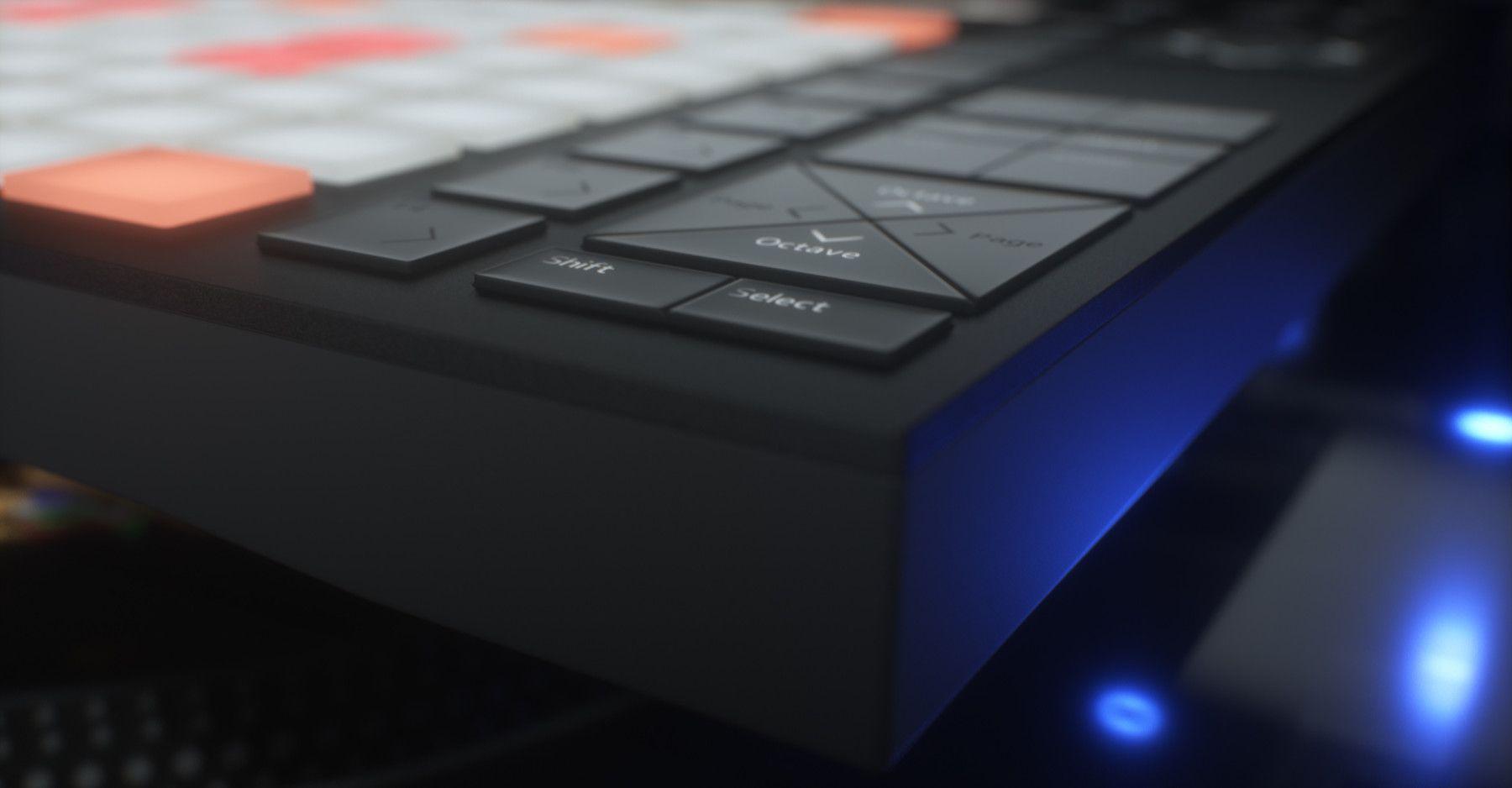 Ableton Push 2 Midi Controller 3D Model. Hard surface high