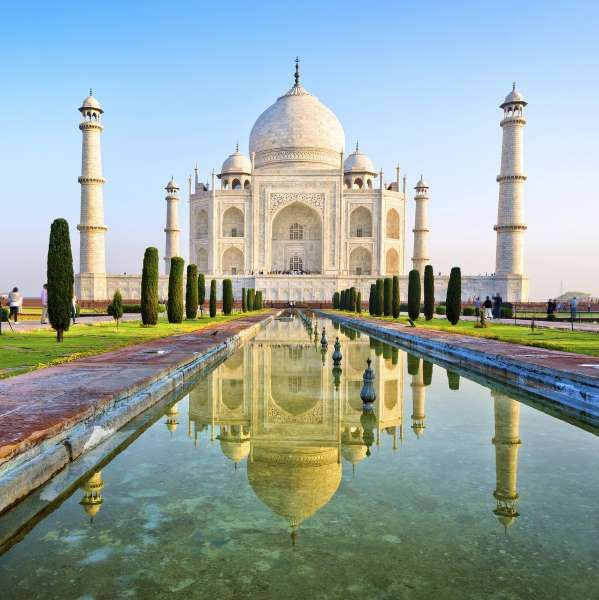 Taj Mahal, India - Nikada/Getty Images