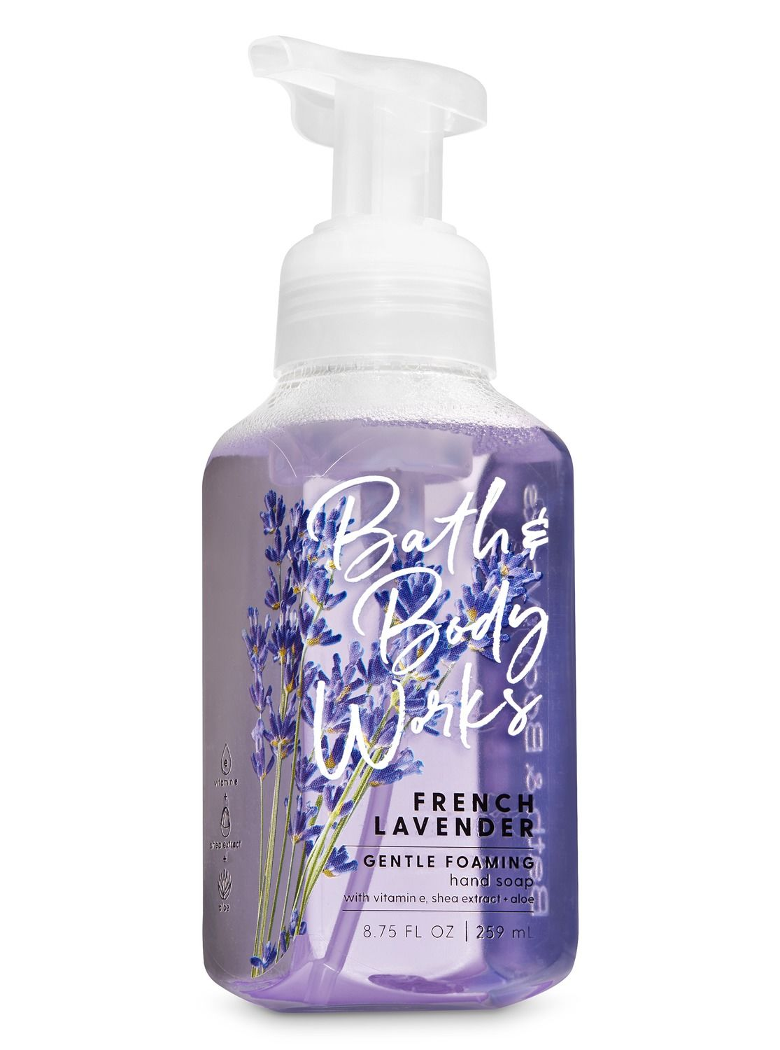 French Lavender Gentle Foaming Hand Soap By Bath Body Works