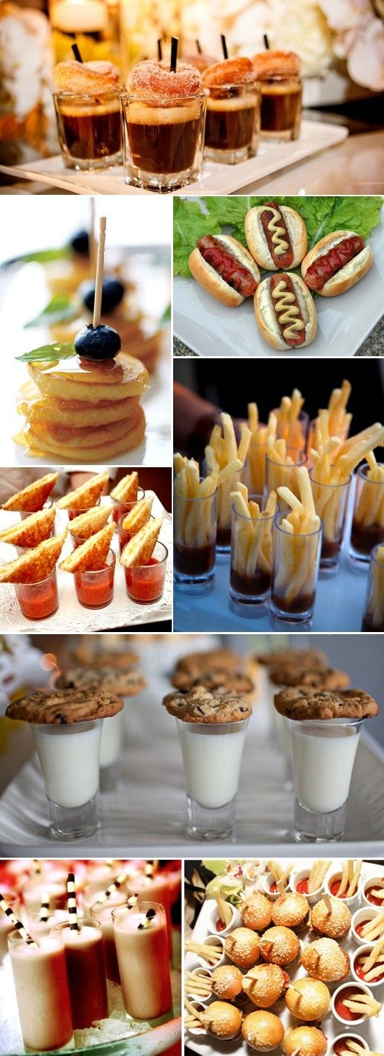 Mini Food Ideas Inspiration Only For A Sampletasting Plate Of