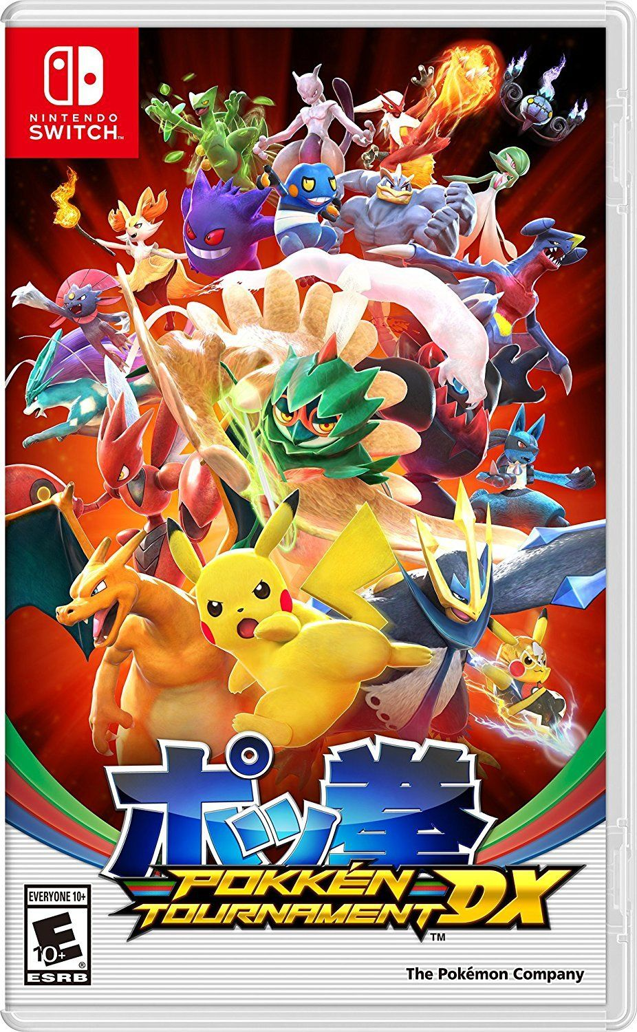 Pokken Tournament Dx Nintendo Switch Gamer For Life Juegos