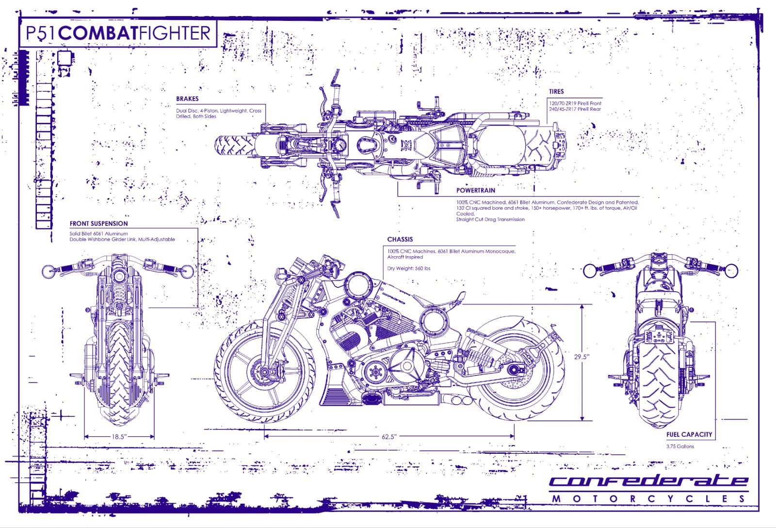 Confederate motorcycles blueprint confederate underground confederate motorcycles blueprint malvernweather