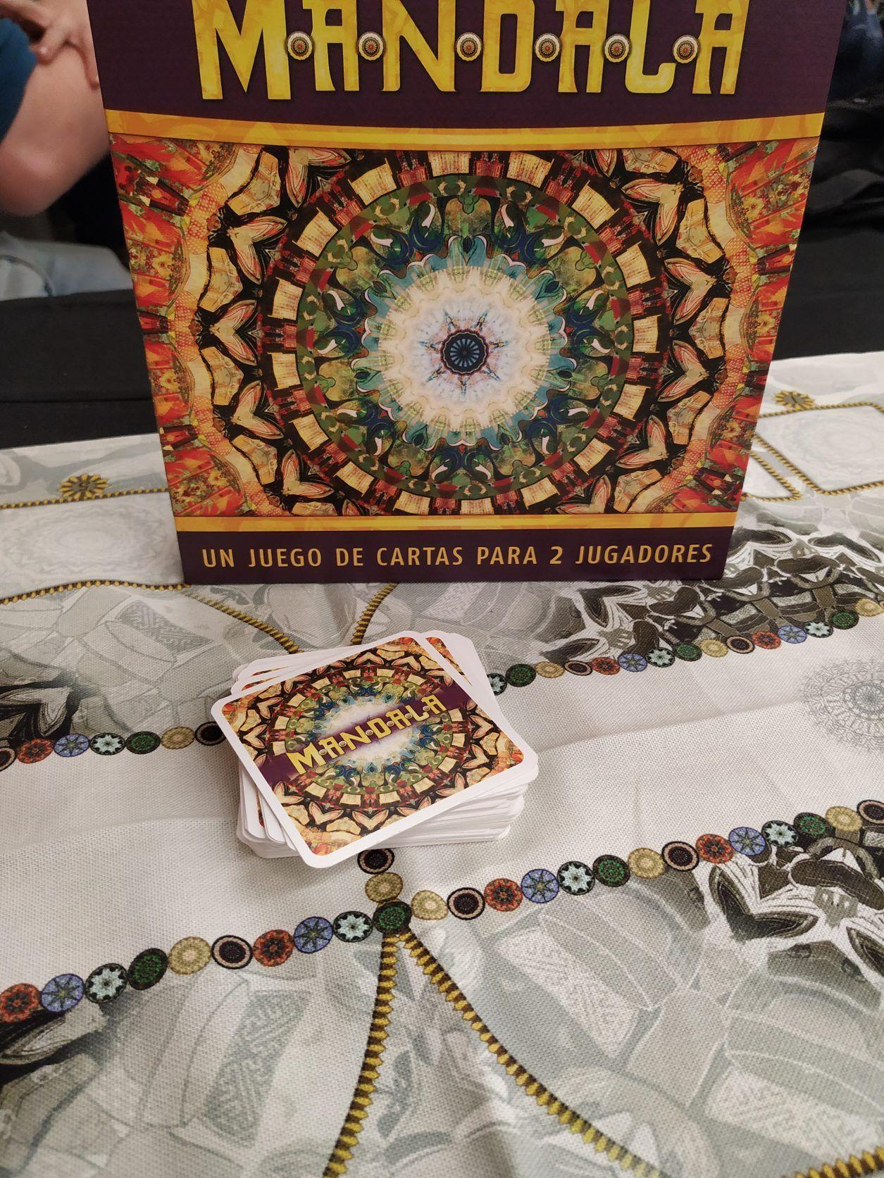 Mandala Juego De Cartas Para 2 De Asmodee Juegos De Cartas Juegos Para 2 Juegos