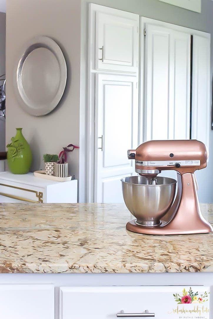 How to paint a kitchenaid mixer copper kitchen aid