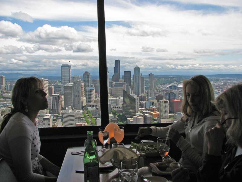 I definitely want to eat at the Space Needle Restaurant even if the foodI definitely want to eat at the Space Needle Restaurant even if  . Dinner Seattle Space Needle. Home Design Ideas