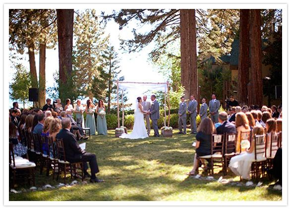Explore Outdoor Wedding Ceremonieore Lake Tahoe At The Hyatt