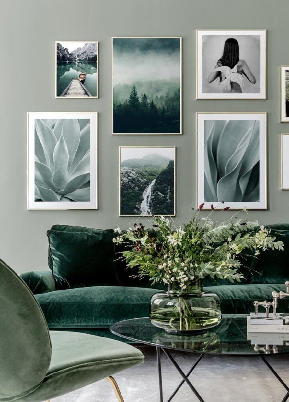 Agave leaves Poster in 20  Kunst fürs wohnzimmer, Wandkunst