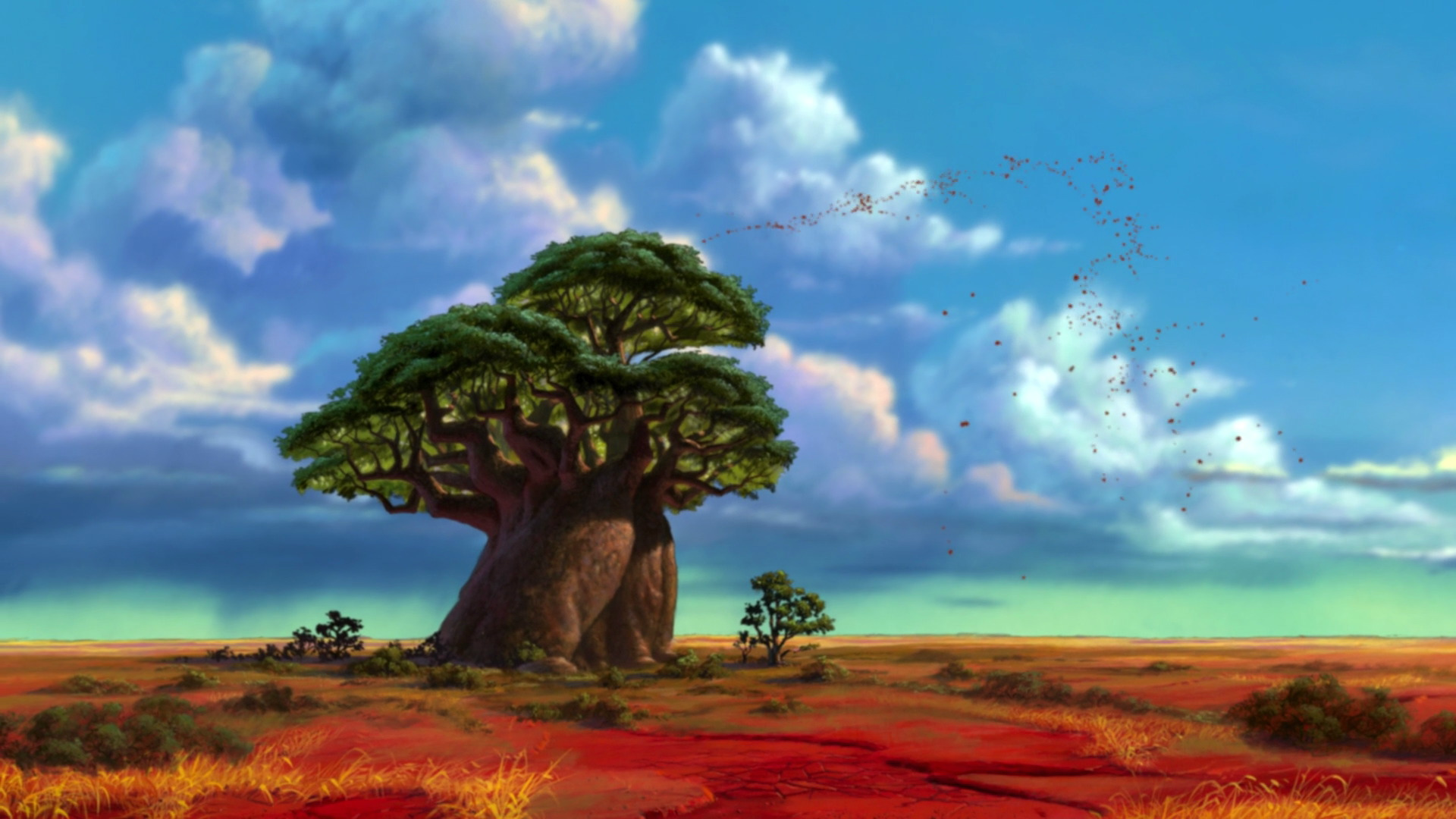 The Tree Of Life The Lion King Wiki Fandom Powered By Wikia Lion King Tree Lion King Quiz Lion King