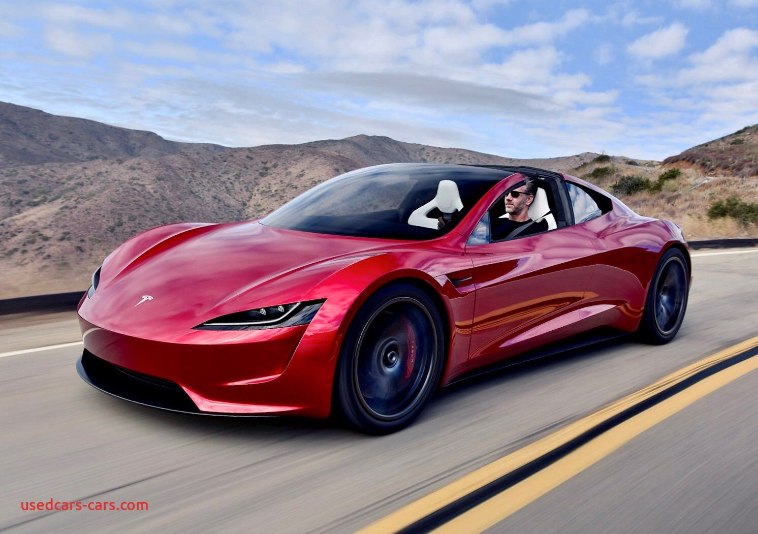 Where Tesla Car From Beautiful New Tesla Roadster Musk Hints At Rocket Powered In 2020 New Tesla Roadster Tesla Car Tesla Roadster