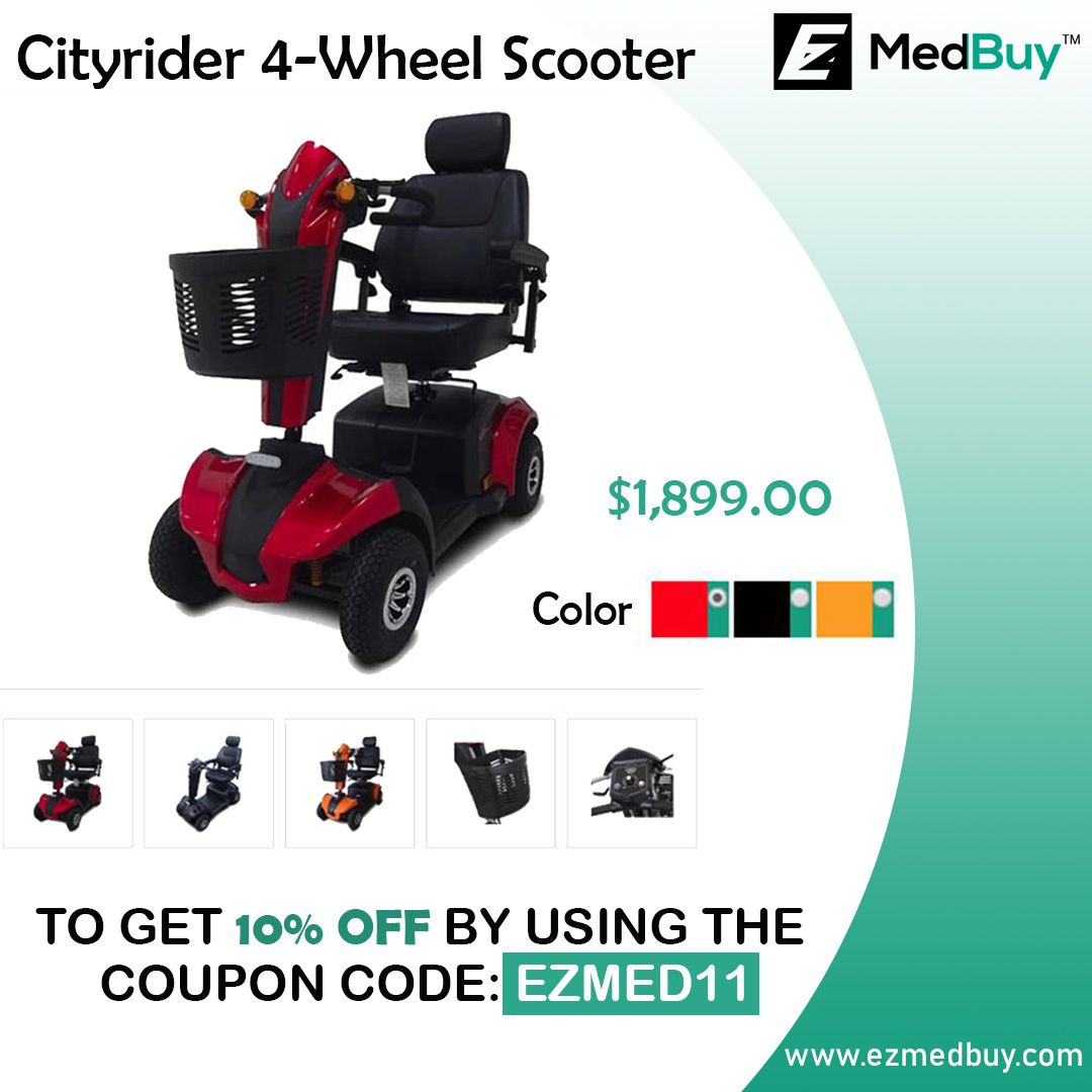 The CityRider incorporates excellent features for an impressive