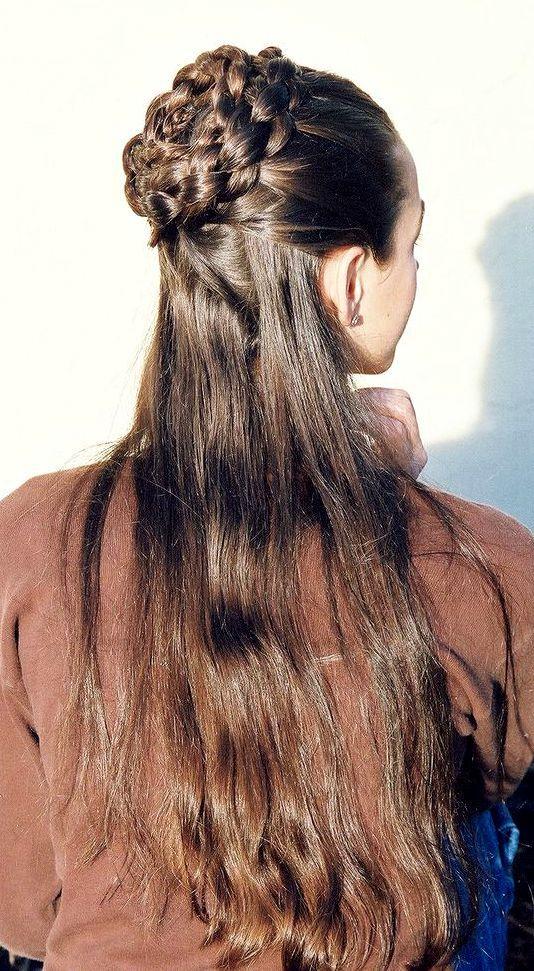 FABULOUS HAIRCUTS   Medieval hairstyles, Hair styles, Hair ...