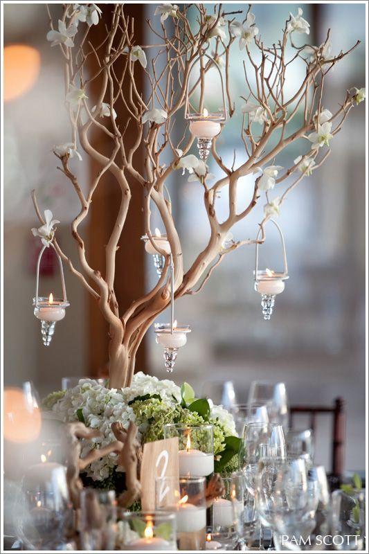 Winter Wedding Decorations Diy, Diy