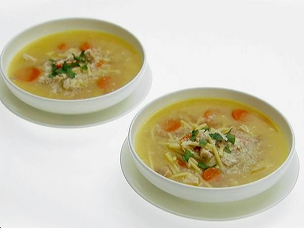 Lemon chicken soup with spaghetti recipe lemon chicken chicken get lemon chicken soup with spaghetti recipe from food network forumfinder Images