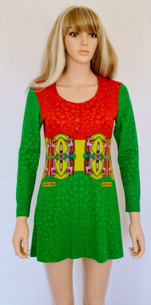 Peter Max dress. | Peter Max Fashions, '60s and '70s in ... Peter Max 60s
