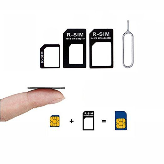 Massmall 2pcs Black Nano Sim Adapter And Micro Sim Adapter And Nano To Micro Adapter With A Needle Nano Micro Standard Sim Cards Sims Adapter