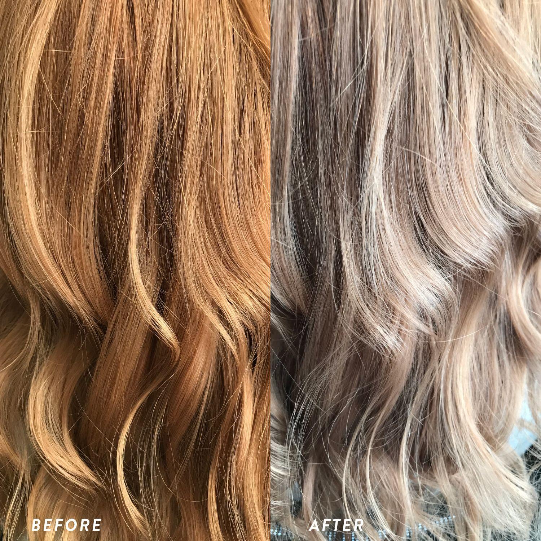 Toner Kit Tone Orange Hair Diy Hair Toner Brassy Hair Toner