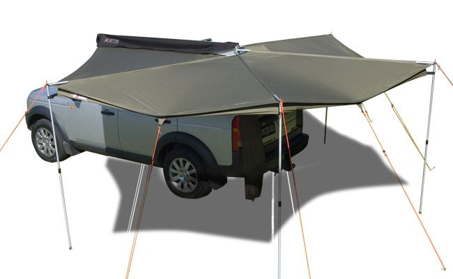 Rhino Rack Foxwing Awning By Oztent 31100 Rhino Rack Awning Motorcycle Camping Gear Camping