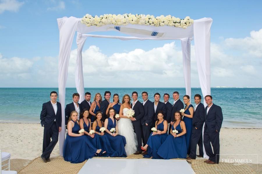 Yana & David | Fred Marcus Studio | Wedding Photographer in New York