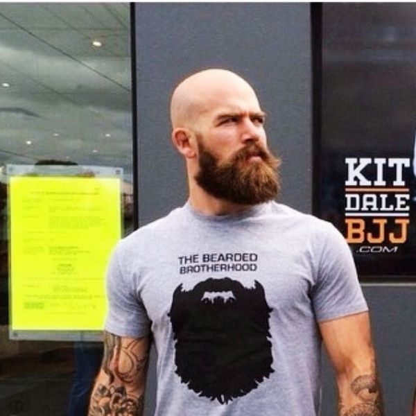 t te ras e avec la barbe 40 barbe styles pour chauve homme hommes de cheveux pinterest. Black Bedroom Furniture Sets. Home Design Ideas