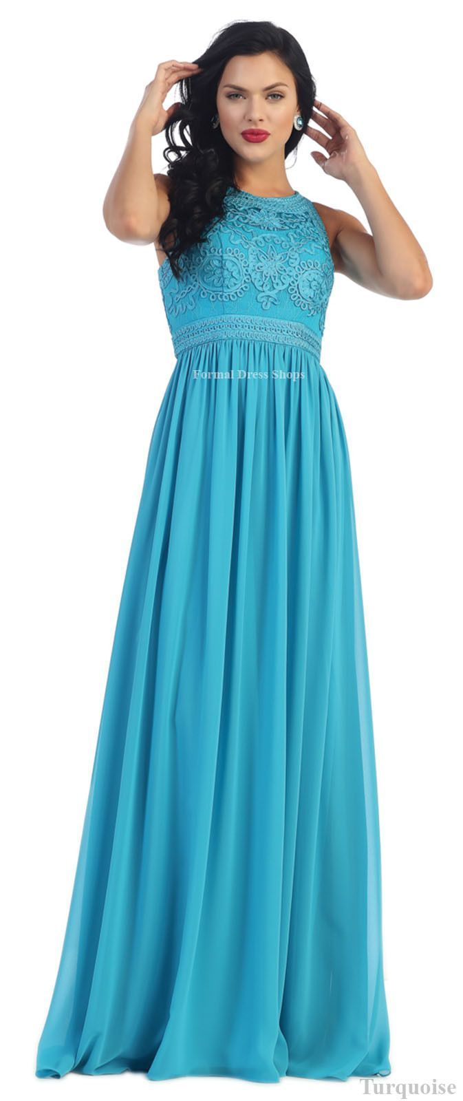 Empire Waist Formal Evening Prom Gowns Pageant Special Occasion Red ...