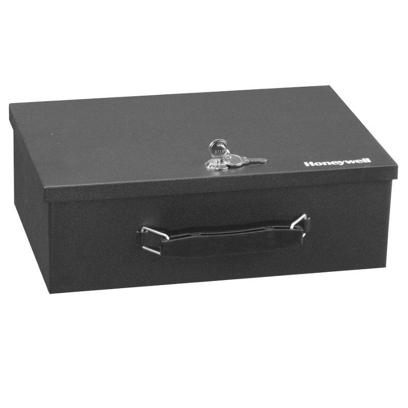 Honeywell 6104 Fire Resistant Security Lock Box Safe Vault