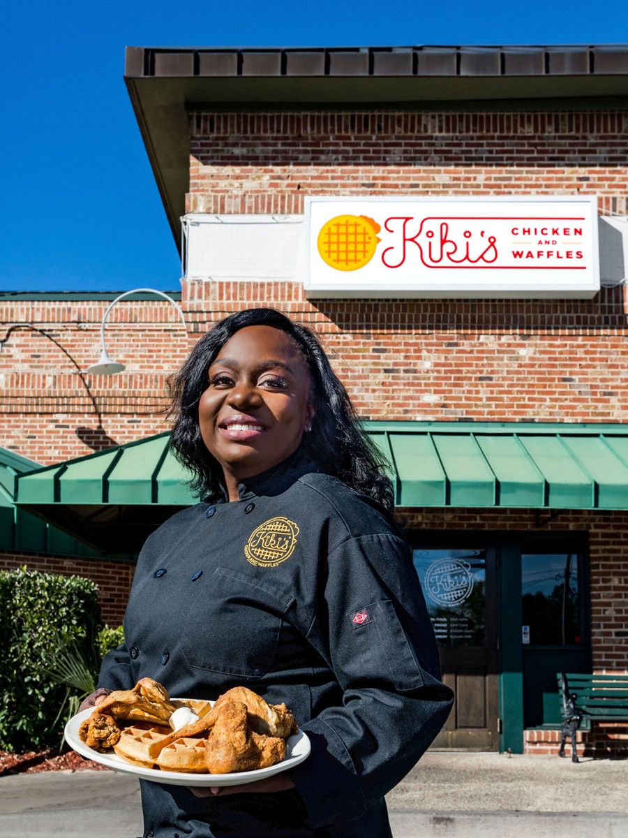 Meet the chickenandwaffles queen of columbia south