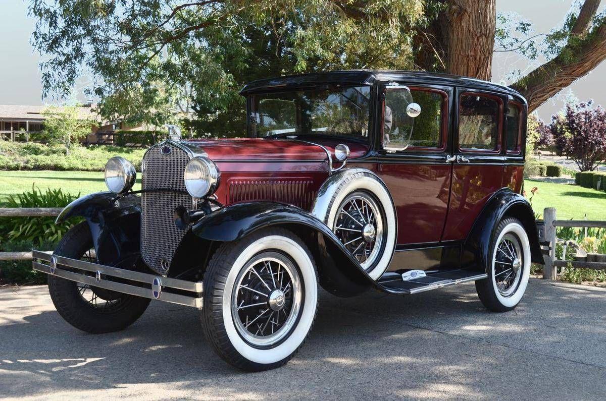 1930 Ford Model A Murray Body 4 Door Sedan Maintenance/restoration ...